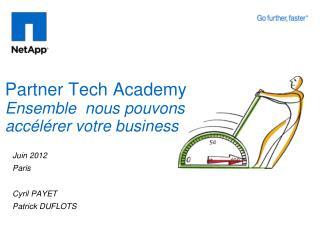 Partner Tech Academy Ensemble  nous  pouvons accélérer votre  business
