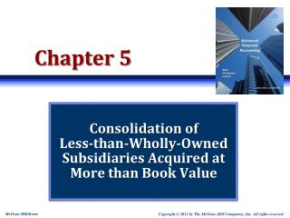 Consolidation of  Less-than-Wholly-Owned  Subsidiaries Acquired at More than Book Value