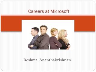 Careers at Microsoft