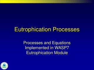 eutrophication processes
