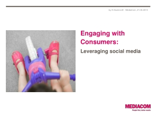 Engaging with Consumers :