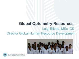 Global Optometry Resources