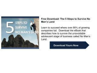 Free Download: The 5 Steps to Survive No Man�s Land