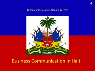 Business Communication in Haiti