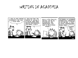 WRITING IN ACADEMIA
