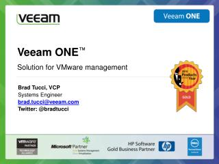 Veeam ONE ™