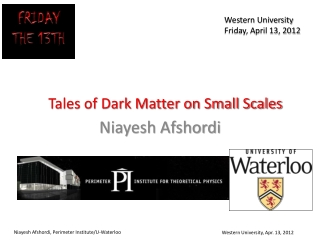Tales of Dark Matter on Small Scales