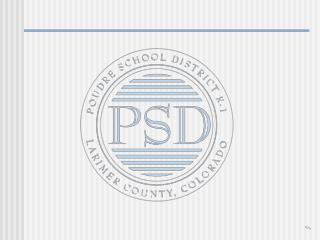 Student-Based Budgeting Presentation by  Poudre School District