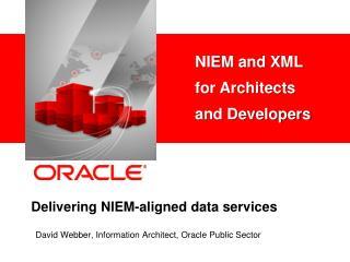 Delivering NIEM-aligned data services