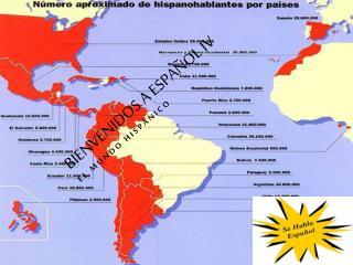 Bienvenidos  a  Español  IV