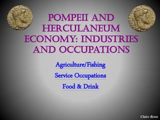 Pompeii and Herculaneum Economy: Industries and Occupations