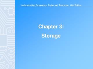 Chapter 3: Storage