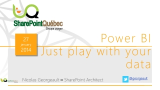 Power BI Just  play with your  data