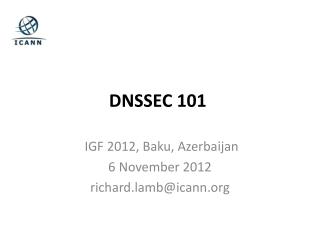 DNSSEC 101