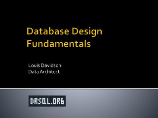 Database Design Fundamentals