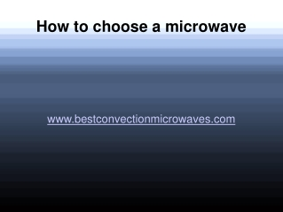 Top rated convection microwave