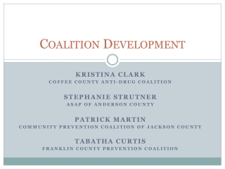 Coalition Development