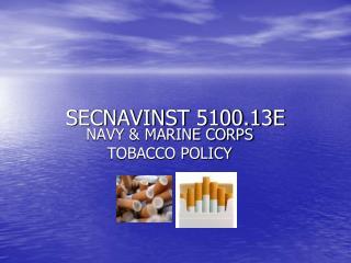 SECNAVINST 5100.13E