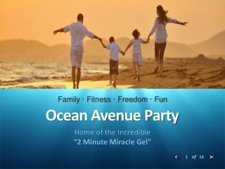 Ocean Avenue Party