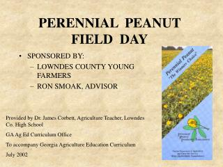 perennial  peanut  field  day