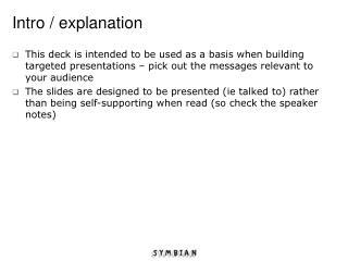 Intro / explanation