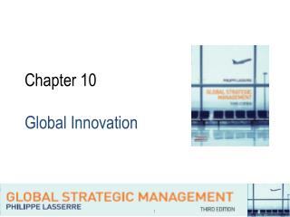 Chapter 10 Global Innovation