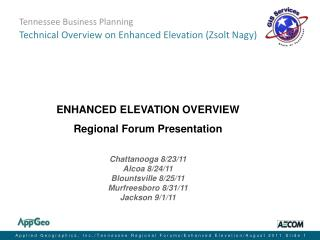 Tennessee Business Planning Technical Overview on Enhanced Elevation (Zsolt Nagy)