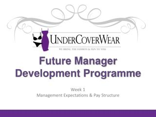 Future Manager Development Programme