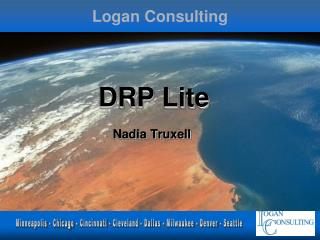 DRP Lite  Nadia Truxell