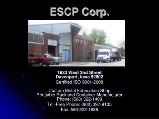 ESCP Corp.