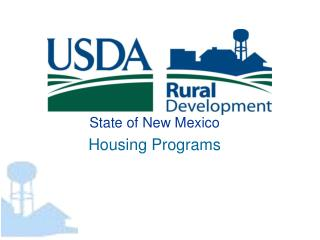 State of New Mexico Housing Programs