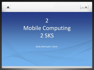 2 Mobile Computing 2 SKS