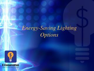 energy-saving lighting options