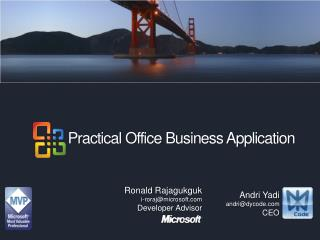 Practical Office Business Application