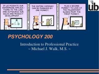 PSYCHOLOGY 200