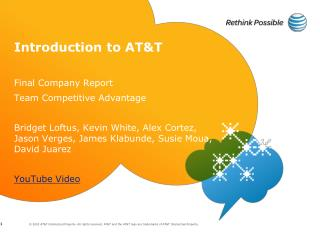 Introduction to AT&T