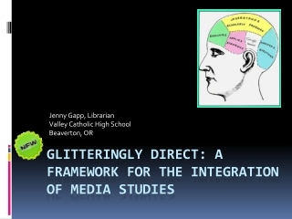 Glitteringly Direct: a framework for the integration of media studies