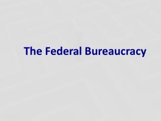 Who Are Bureaucrats
