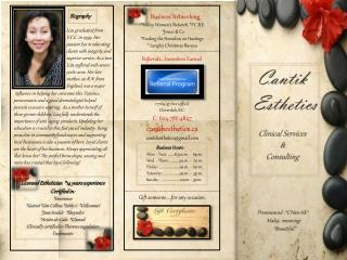 Cantik  Esthetics Clinical Services  &  Consulting