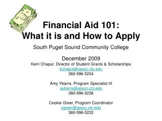 Financial Aid 101: What it is and How to Apply
