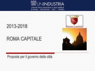 2013-2018 ROMA CAPITALE