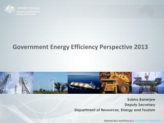 Government Energy Efficiency Perspective 2013