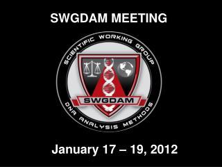 SWGDAM MEETING