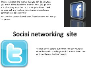 Social networking  site