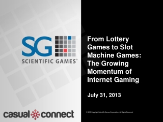 From Lottery Games to Slot Machine Games: The Growing Momentum of Internet  Gaming