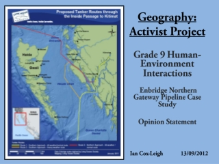 Geography: Activist Project
