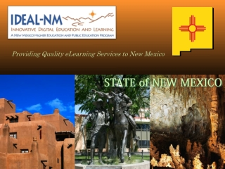 Providing Quality eLearning Services to New Mexico
