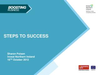 Sharon Polson Invest Northern Ireland 16 TH  October 2012