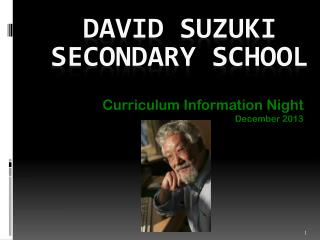 David Suzuki Secondary School