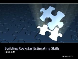 Building Rockstar Estimating Skills